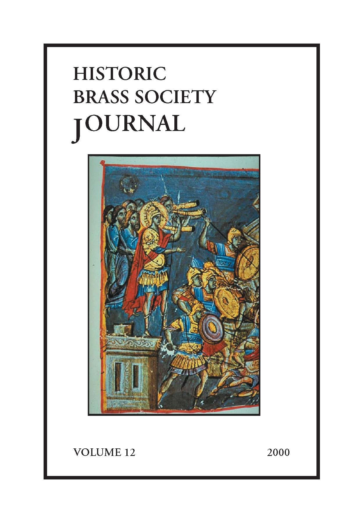Historic Brass Journal - Volume 12 - 2000