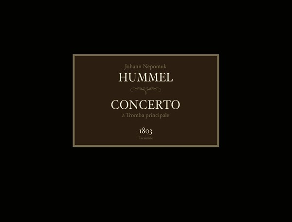 Facsimile Edition of the Hummel Trumpet Concerto (1803)