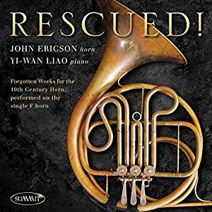 John Ericson, Rescued! Forgotten Works for Horn