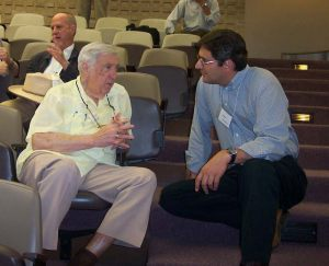 Special guest Gunther Schuller chats with John Anthony